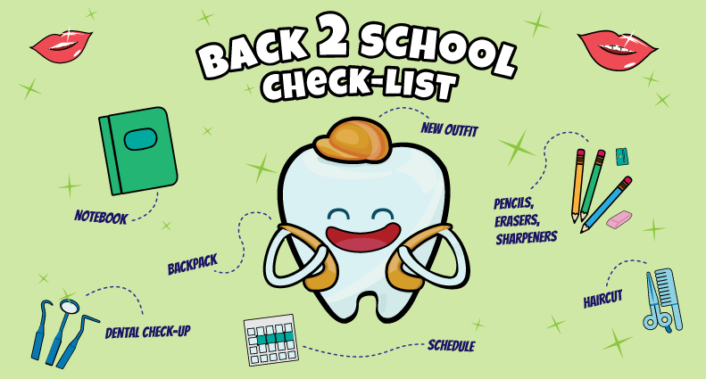 Holly Springs NC Dentist Back To School Check List